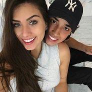 """Flávia Pavanelli, ex do cantor Biel, fala sobre namoro com o piloto Adibe Marques: """"Sempre juntos"""""""