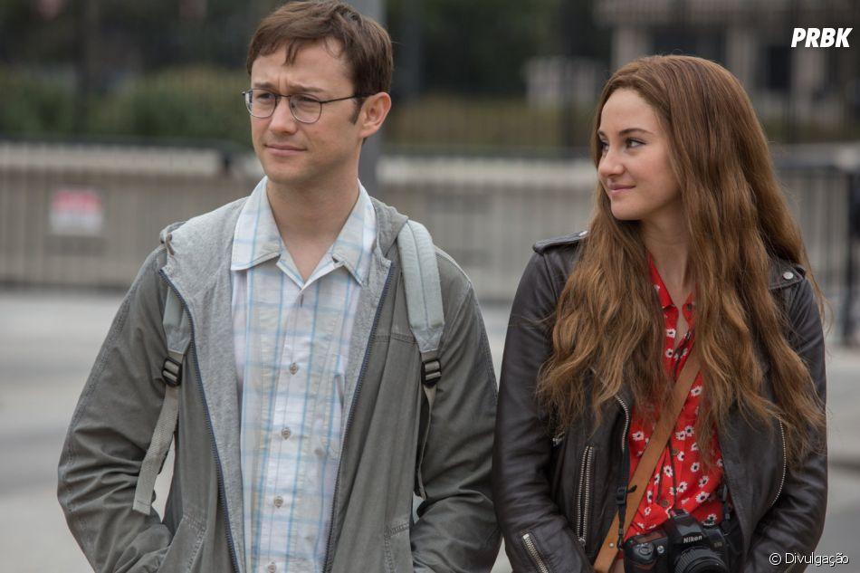 """Joseph Gordon-Levitt e Shailene Woodley estrelam a cinebiografia """"Snowden"""""""