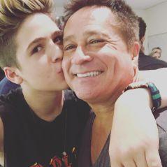 João Guilherme Ávila usa o Instagram para declarar seu amor por Leonardo e faz uma homenagem ao pai!