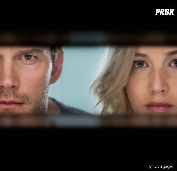 "Jennifer Lawrence e Chris Pratt protagonizam ""Passageiros"""