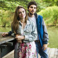 "Novela ""A Lei do Amor"": Helô (Isabelle Drummond) flagra Pedro na cama com Suzana!"