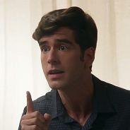 """Novela """"Haja Coração"""": Felipe (Marcos Pitombo) ameaça Jéssica após prisão de Shirlei!"""