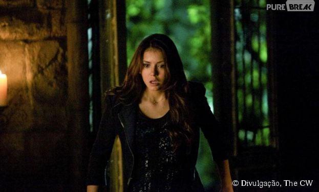 """Elena (Nina Dobrev) correrá um grave risco em """"The Vampire Diaries"""""""