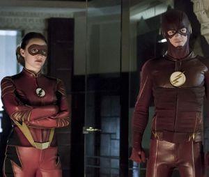 """Em """"The Flash"""": na 3ª temporada,Jesse Quick (Violett Beane) e Barry Allen (Grant Gustin) vão lutar juntos!"""