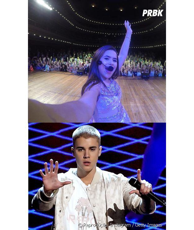 Maisa Silva e Justin Bieber juntos? Os dois bem que poderiam fazer uma parceria!