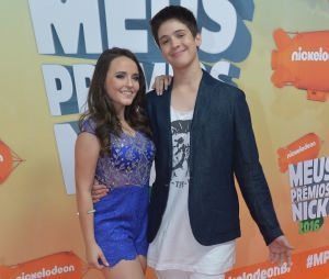 Larissa Manoela e João Guilherme marcaram presença no Meus Prêmios Nick 2016