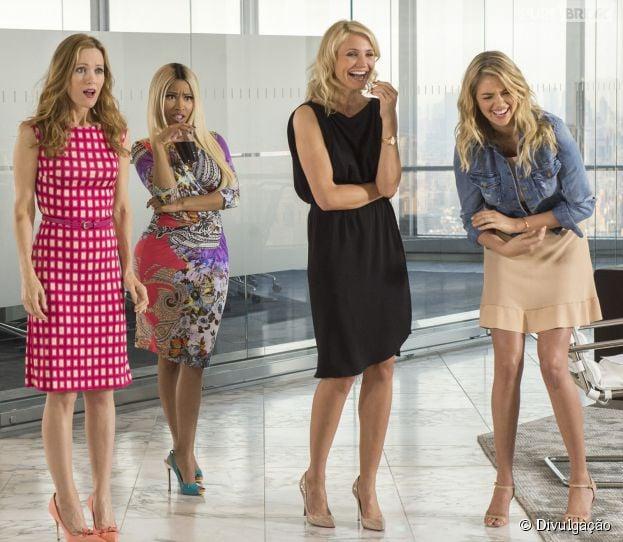 """Em """"Mulheres ao Ataque"""", a modelo Kate Upton tem seu primeiro papel de destaque no cinema"""