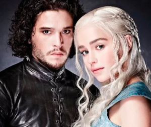 "Sétima temporada de ""Game of Thrones"" terá encontro entre Jon Snow (Kit Harrington) e Daenerys (Emilia Clarke)"