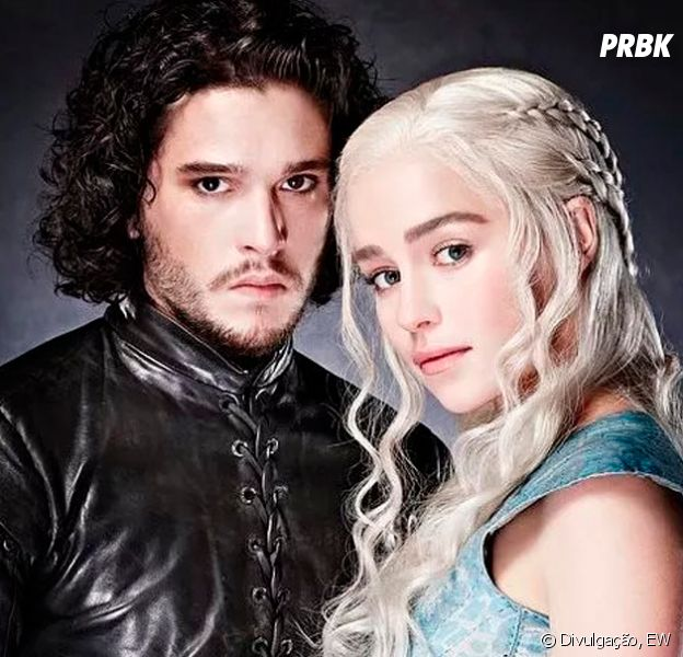"Sétima temporada de ""Game of Thrones"" terá encontro entre Jon Snow (Kit Harrington) e Daenerys (Emilia Clarke)"