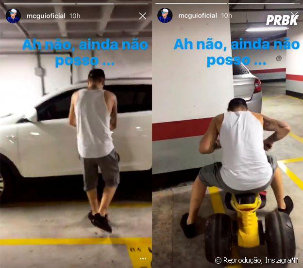 """MC Gui faz piada sobre sua """"prisão"""" em vídeo no Instachat, do Instagram!"""