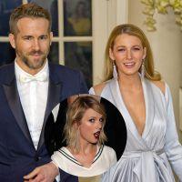 """Taylor Swift se emociona com foto de Ryan Reynolds e Blake Lively: """"Me afogando em lágrimas"""""""