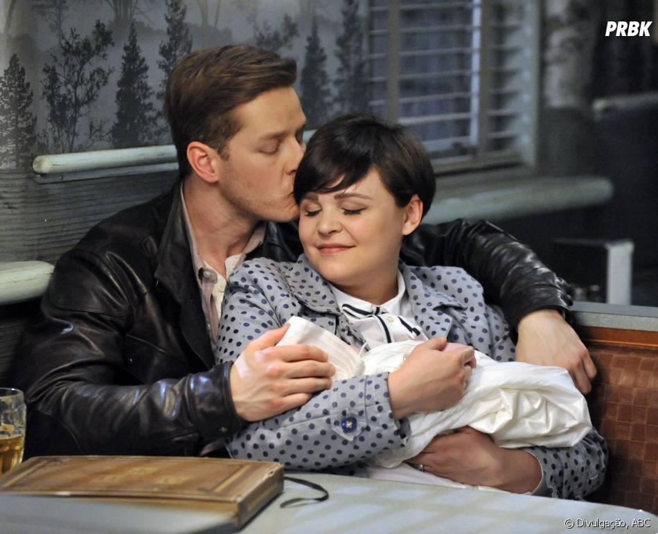 """Em """"Once Upon a Time"""", Snow (Ginnifer Goodwin) e Charming (Josh Dallas) deram nome ao seu bebê!"""