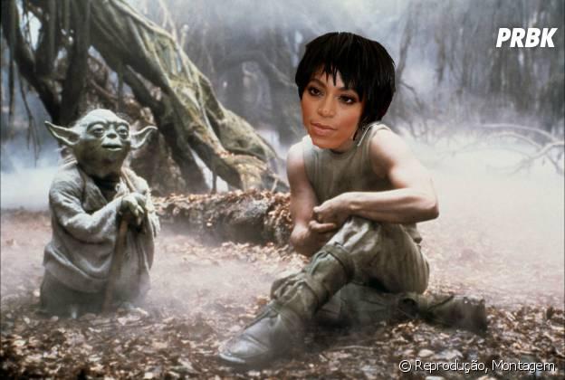 """Será que foi com o mestre Yoda do filme """"Star Wars""""?"""