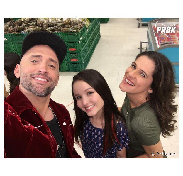 Paulo Gustavo posta foto com Larissa Manoela e Ingrid Guimarães no Instagram