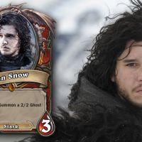 """Personagens de """"Game of Thrones"""" viram cartas do jogo """"Hearthstone"""""""