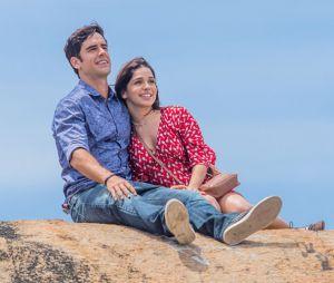 """Final feliz de Shirlei (Sabrina Petraglia) e Felipe (Marcos Pitombo)em """"Haja Coração"""" é revelado!"""
