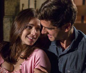 """Shirlei (Sabrina Petraglia) e Felipe (Marcos Pitombo) terão uma filha, no final de""""Haja Coração"""""""