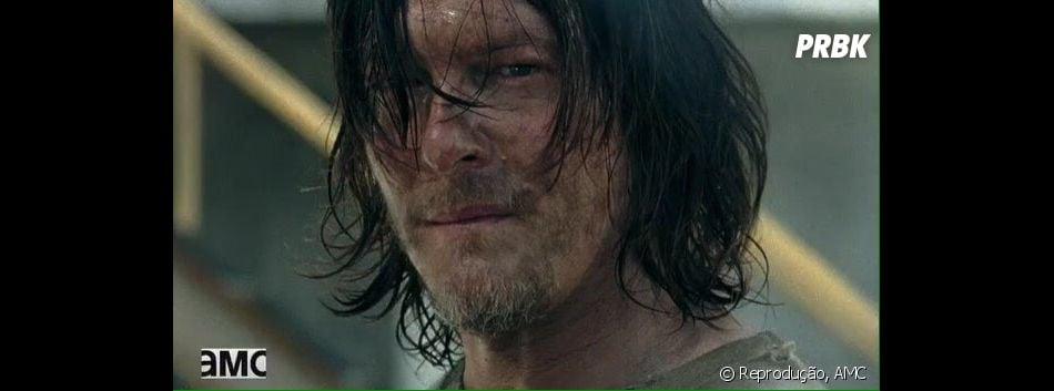 """Em """"The Walking Dead"""", Daryl (Norman Reedus) sofre humilhações no Santuário, após ser capturado por Negan (Jeffrey Dean Morgan)"""