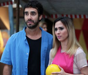 """Leozinho (Gabriel Godoy) e Fedora (Tatá Werneck) ficam juntos em """"Haja Coração"""""""