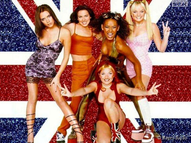 """""""Spice Girls"""" o grupo completa 20 anos em 2014! #saudades"""