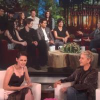 "Kristen Stewart fala sobre ""Crepúsculo"" e novos filmes no programa de Ellen DeGeneres!"