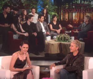 """Saiba como foi a participação de Kristen Stewart no """"The Ellen DeGeneres Show"""" desta sexta-feira (11)"""