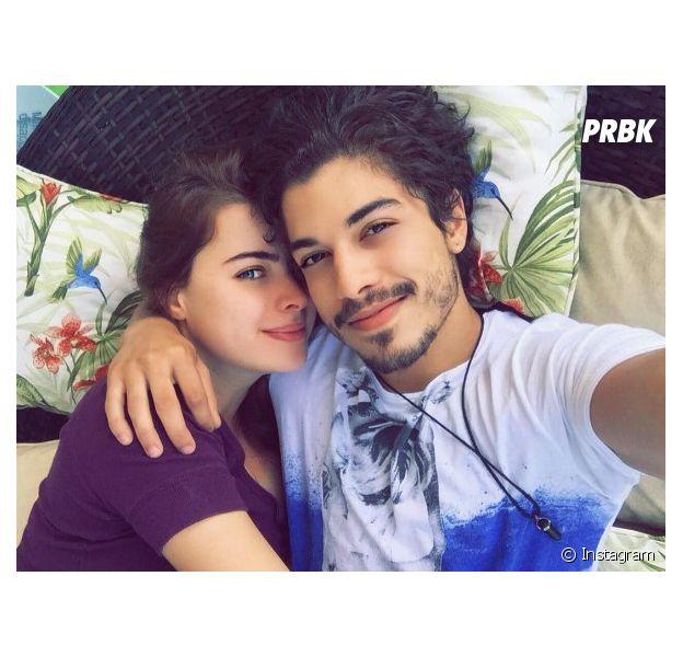 Douglas Sampaio e Rayanne Morais estão juntos há quase um ano
