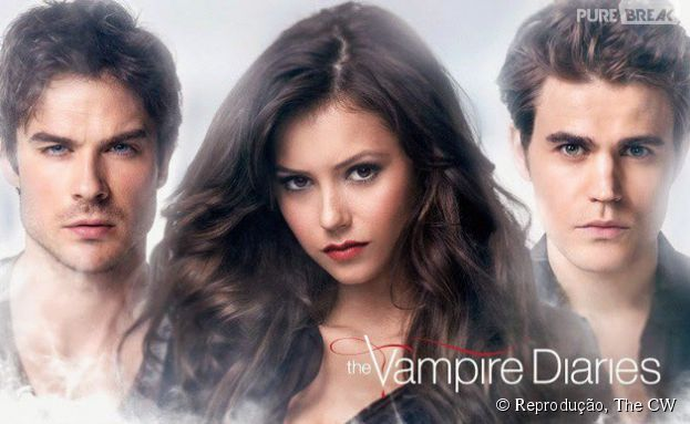 "Pôster da Sexta Temporada de ""The Vampire Diaries"""