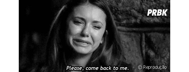 """Elena (Nina Dobrev) em """"The Vampire Diaries"""""""
