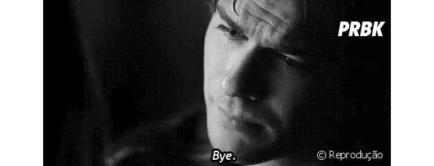 "Damon (Ian Somerhalder) em ""The Vampire Diaries"""