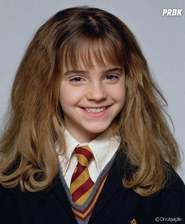 """Emma Watson estreou lá em 2001 como a Hermione em """"Harry Potter e a Pedra Filosofal"""""""