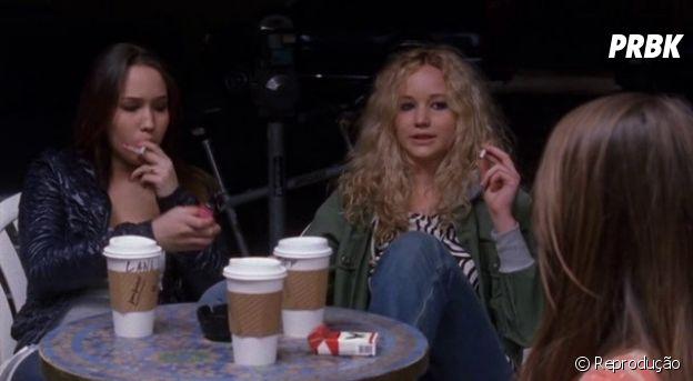 "Jennifer Lawrence foi a Tiff em ""Garden Park"" (2008)"