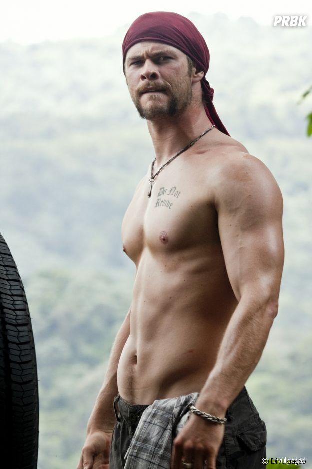 """Chris Hemsworth viveu Kale em """"A Trilha"""", lá em 2009"""