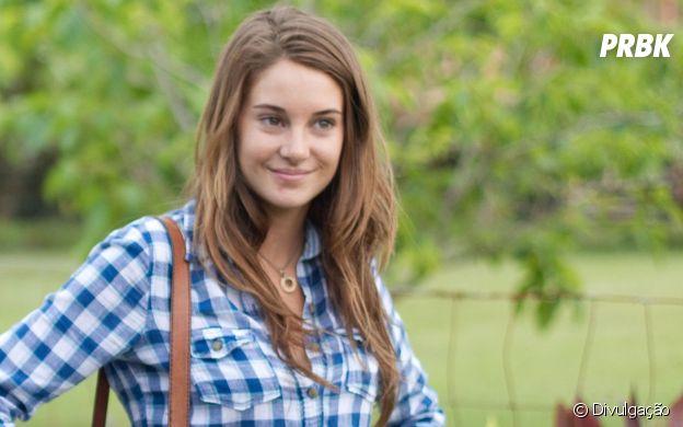 """Shailene Woodley estreou nos cinemas em 2011 como a Alex em """"Os Descendentes"""""""