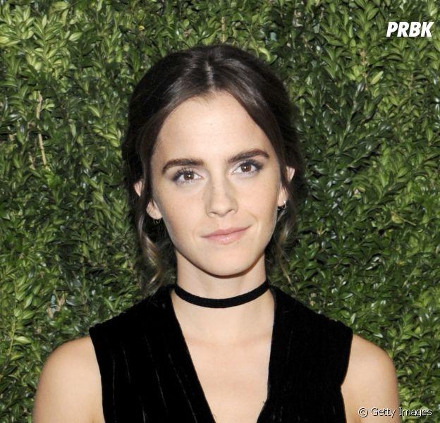 """Emma Watson estreou nos cinemas em 2001 na série """"Harry Potter"""""""