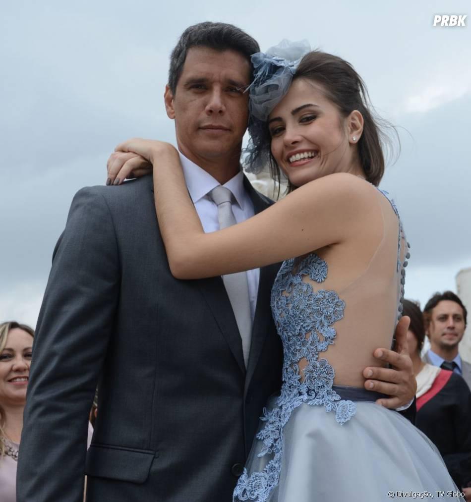 """Patrícia (Maria Casadevall)já foi casada com Guto (Márcio Garcia) em """"Amor à Vida"""""""