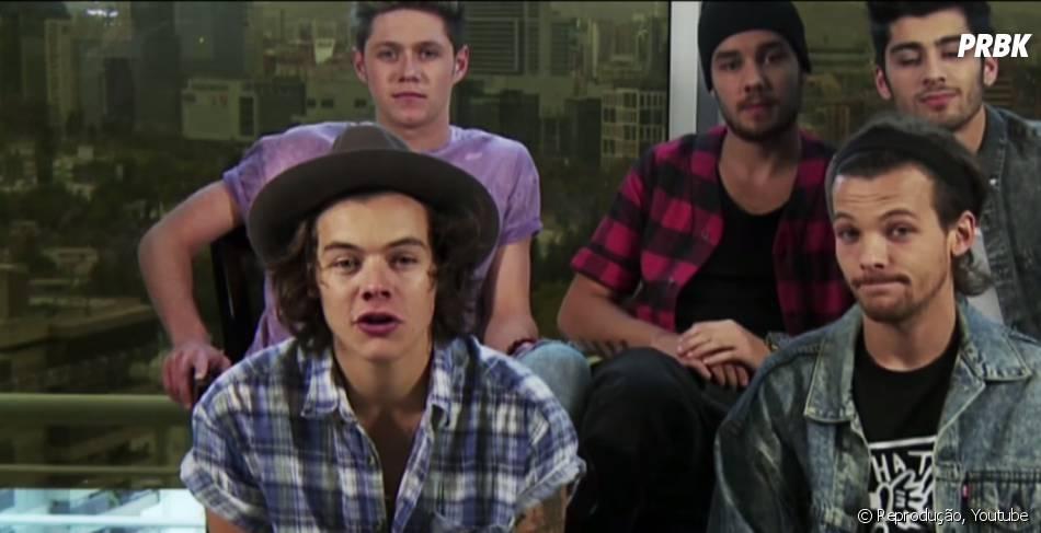 Em um vídeo, o grupo One Direction anuncia nova turnê para fevereiro de 2015
