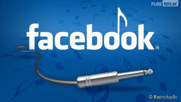 Músicas, programas de tv e filmes que você assistir vçao poder ser compartilhador de forma mais fácil no Facebook
