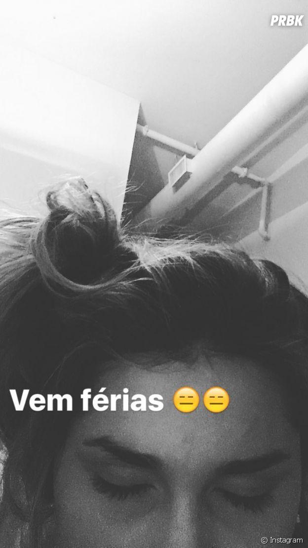 """Sasha Meneghel posta foto no Instagram Stories """"Vem Férias"""""""