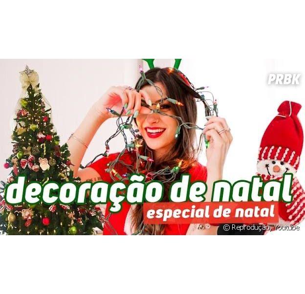 Nah Cardoso, Boca Rosa, Maddu Magalhães e mais youtubers ensinam a produzir decorações de Natal em vídeos incríveis