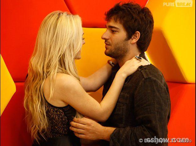 """Em """"Geração Brasil"""", Megan (Isabelle Drummond) ataca Davi (Humberto Carrão)"""