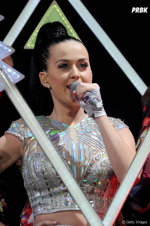 Show de Katy Perry foi o primeiro da vida de Ariana Grande