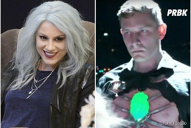"""Em """"Supergirl"""", Livewire (Brit Morgan) e Metallo (Frederick Schmidt) voltam para a 2ª temporada!"""