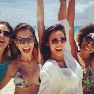 Juliana Paiva e Yanna Lavigne de férias em viagem paradisíaca! Confira fotos: