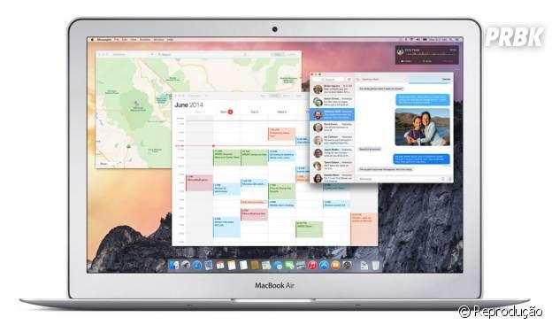 Novo Mac OS X: Yosemite vai ser lançado foi apresentado na WWDC 2014
