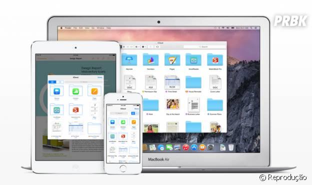 iCloud Drive é o novo recurso parecido com o Google Drive