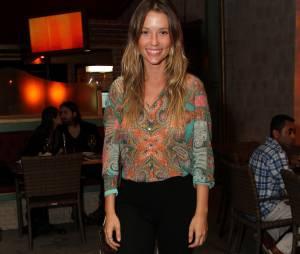 Deslumbrante, Juliana Didone também participou do evento no Rio