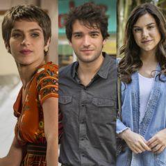 """Novela """"A Lei do Amor"""": Letícia (Isabella Santoni) descobre traição de Tiago com Marina!"""
