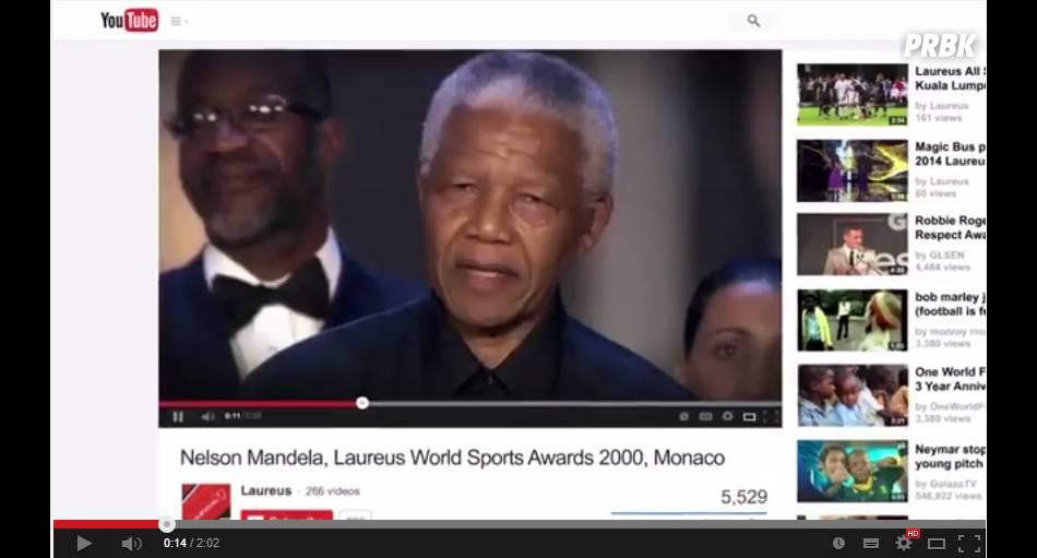 Discurso de Nelson Mandela serve com inspiração para o vídeo da campanha #JogueComOrgulho