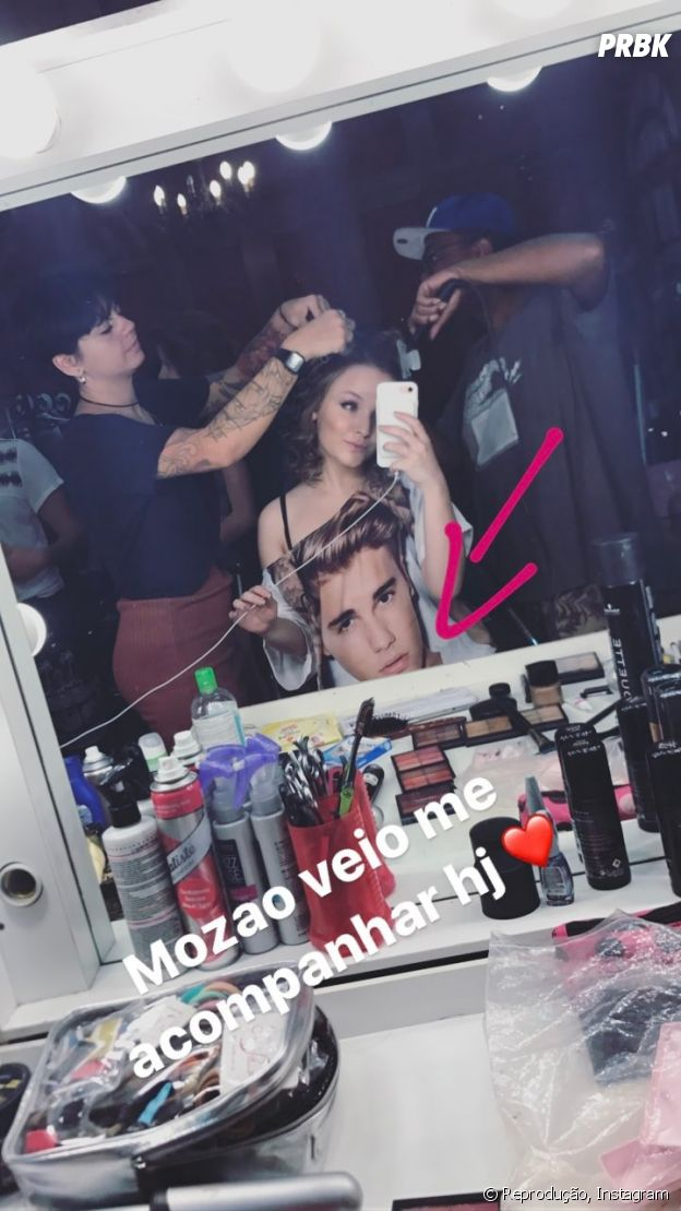 Larissa Manoela se declara para Justin Bieber em foto